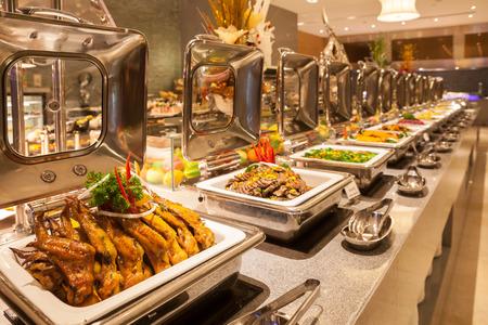 ビュッフェ式レストラン、ホテル レストラン