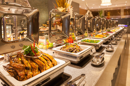 food buffet: Buffet restaurant, the hotel restaurant