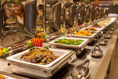 Restaurante buffet, el restaurante del hotel
