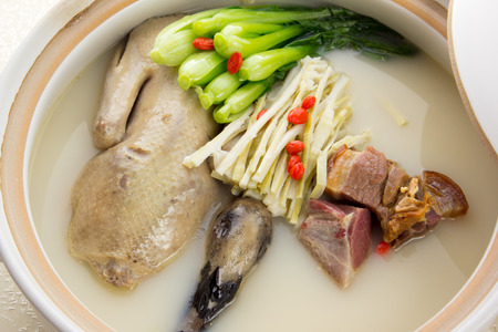 cantonese: Tonic duck soup, China Cantonese