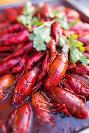 Crayfish close up view Фото со стока