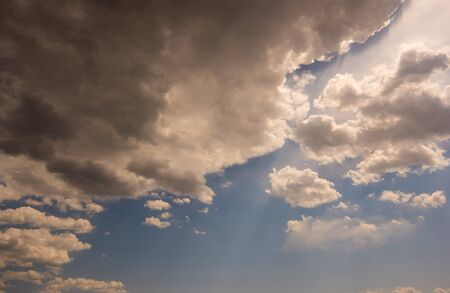 Cloudy weather view Stock Photo - 88535542