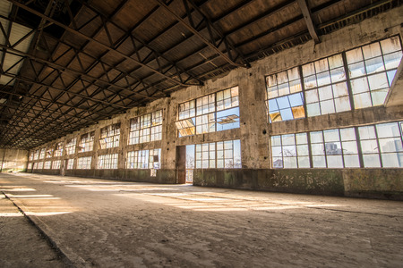 Old abandoned rubber factory