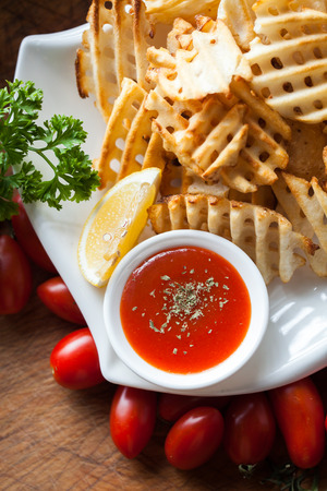 Western-style food, fried potato chips