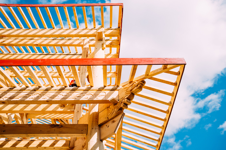 roof framing: Wooden buildings