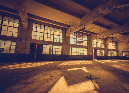 old factory: Old factory, rubber factory, China