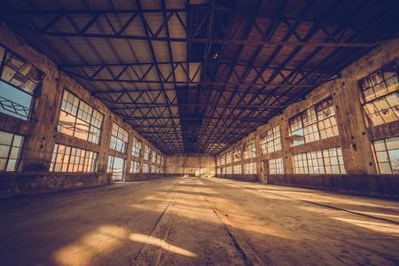 factory: Old factory, rubber factory, China