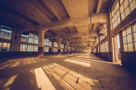 aisles: Old factory, rubber factory, China