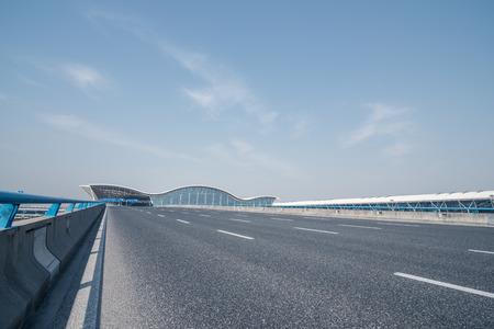 The open highway,airport road