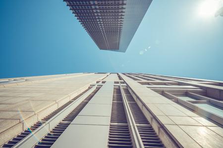 Modern skyscrapers in Shanghai, China