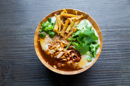 peoples: The Chinese peoples breakfast, tofu products