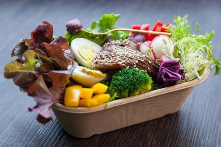 combo: beef combo set Stock Photo
