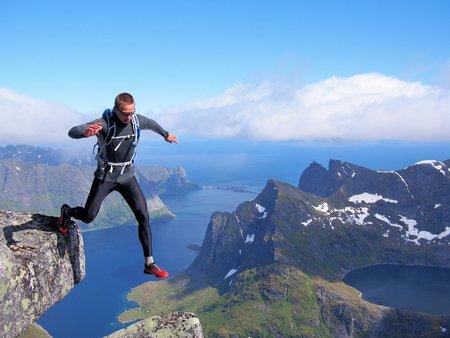 lofoten: Lofoten Norway Stock Photo