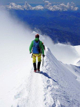 blanc: Climbing Mont Blanc France