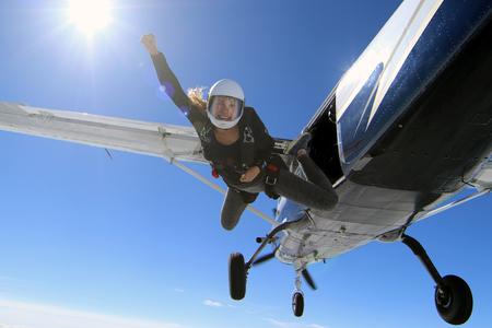 Skydiving in Norwegen