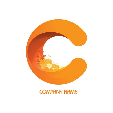 Flower in Logos company.
