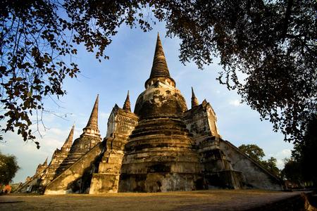 the world heritage: World heritage of Thailand. Stock Photo