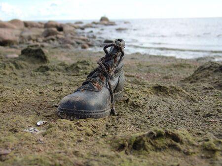 Boot. Stock Photo