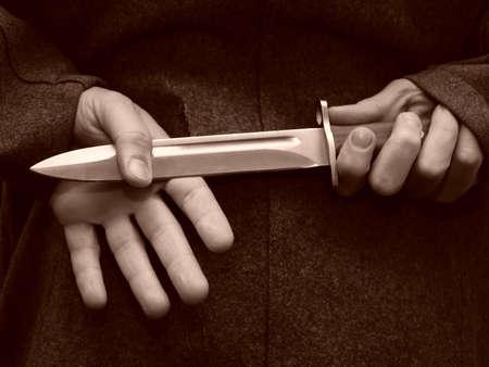 bayonet: Bayonet - a knife