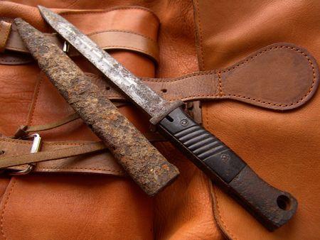 Bayonet a knife