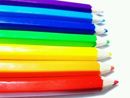 arco iris: L?pices de color