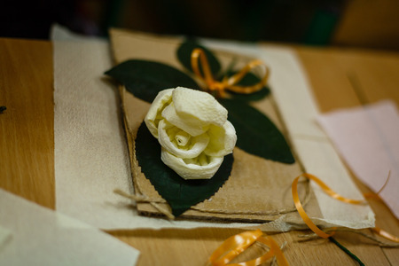 barrettes: barrettes made with their own hands flower