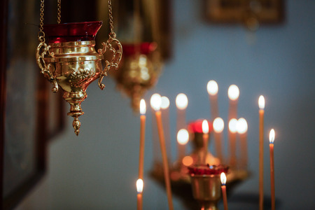 lighted: church. Orthodox Church. Christianity. church lighted candles icon religion