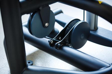 simulators: Close up train simulators and details in sporting room