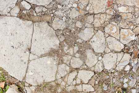 rupture: Cracked concrete texture closeup background Cracked cement texture