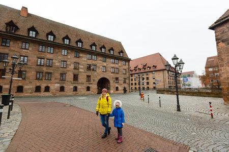 Panorama of theold town of Nuremberg