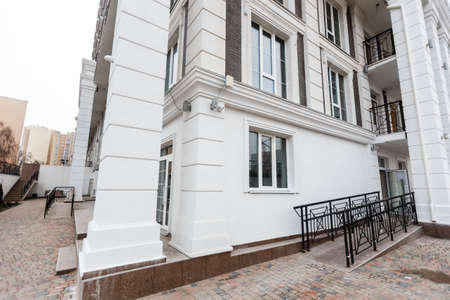 Modern, Luxury Apartment, new building facade