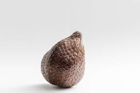 Salak snake fruit isolated on white background Archivio Fotografico