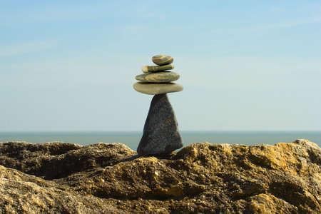 pebble on a beach photo