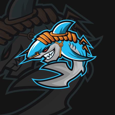 Shark e sport logo
