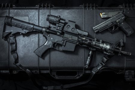 assult rifle 版權商用圖片