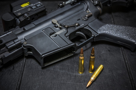 m16 ammo: assult rifle and bullet