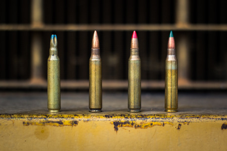 m16 ammo: assault rifle bullet