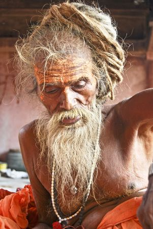 Sadhu Stock Photo