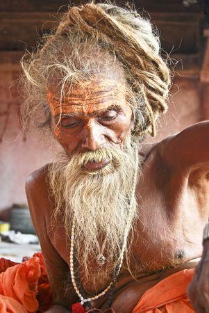 sadhu: Sadhu Stock Photo