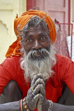 Sadhu Stock Photo - 7968929