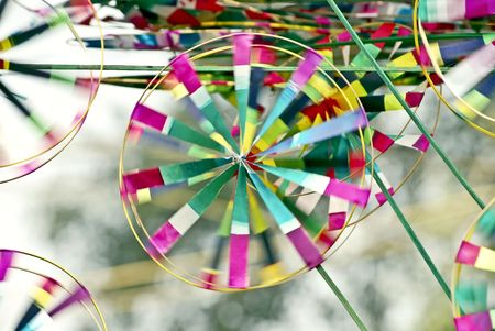 pinwheel Stock Photo