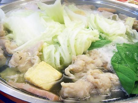Sukiyaki: Meatball Vegetable and Pork Stock Photo