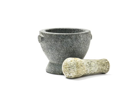 Traditional Mortar and Pestle (Cooking Utensil)