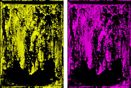 oxidation: Rusty Grunge Background, Metallic look, Duotone