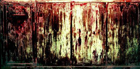 sadistic: Rusty Grunge Background, Metallic look Stock Photo