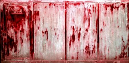 sadistic: Rusty Grunge Background, Metallic look, Blood Stain