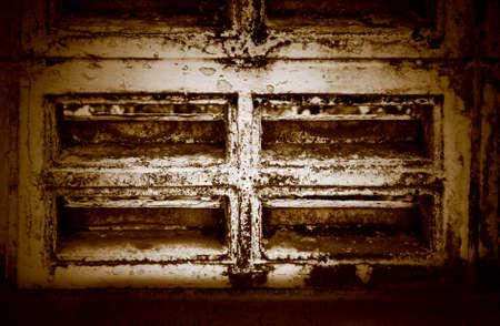 Grunge Window Background Surface