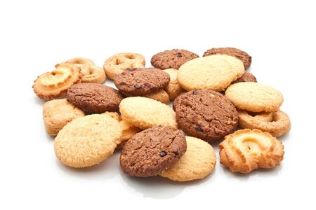 Assorted cookie isolated on white Stock Photo - 17798338