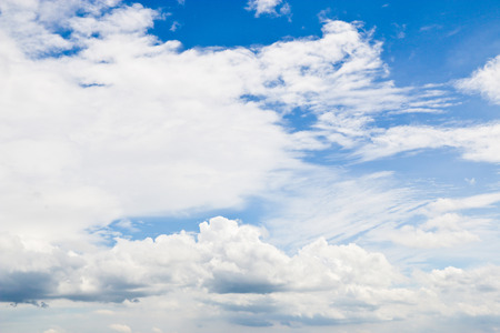 Sky and Cloud, with Copy Writing Space