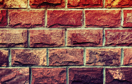 Vintage Brick Wall Background